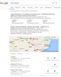 sugerencias Google